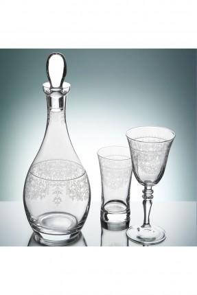 طقم زجاج للشرب / 12 شخص - 25 قطعة /