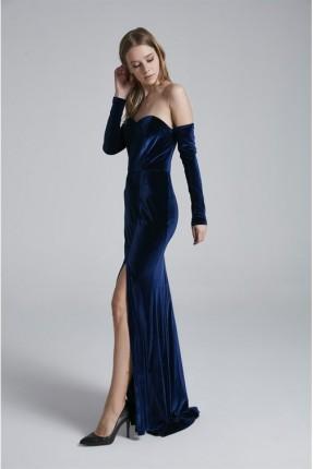 فستان رسمي - ازرق