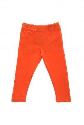 بنطال اطفال بناتي _ برتقالي