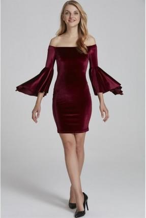 فستان رسمي - احمر