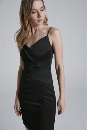 فستان شيال - اسود