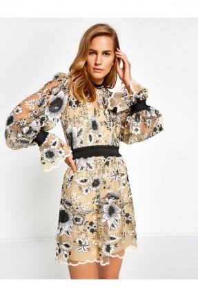 فستان سبور مزهر