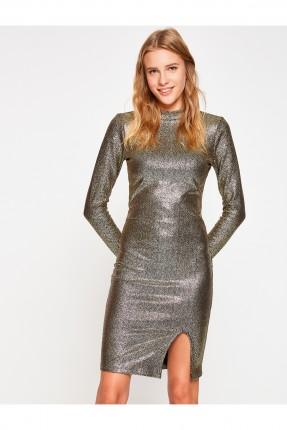 فستان سبور قصير _ ذهبي