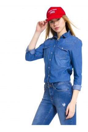 قميص نسائي جينز