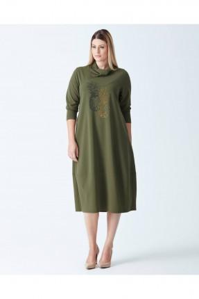 فستان كم طويل - زيتي