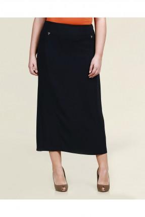 تنورة طويلة - نيلي