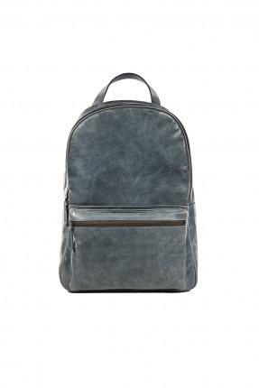 حقيبة ظهر رجالية - رمادية