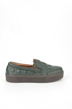 حذاء نسائي _ اخضر