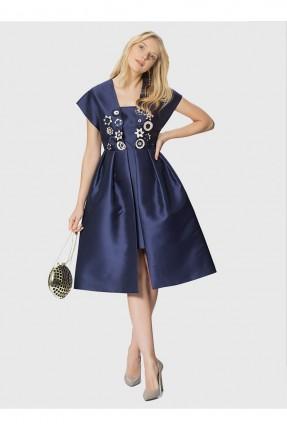 فستان رسمي - نيلي