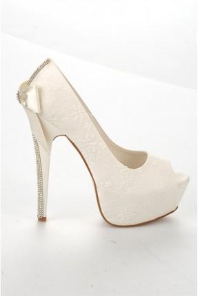 حذاء نسائي رسمي _ بيج