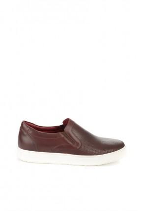 حذاء رجالي سبور _ خمري
