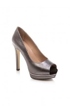 -حذاء نسائي - رمادي