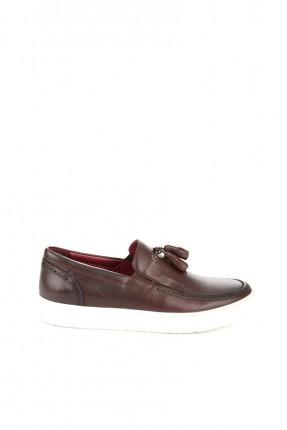 حذاء رجالي _ خمري