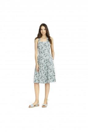فستان مع نقشات