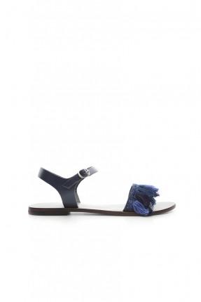 صندل نسائي - ازرق