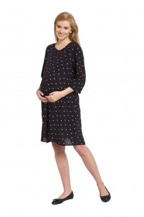 فستان حامل مع نقشات