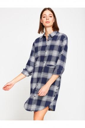 قميص نسائي سبور - ازرق