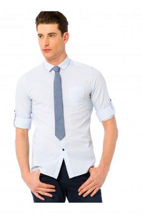 قميص شبابي - ازرق