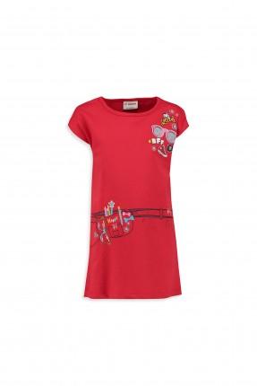 فستان اطفال بناتي - احمر