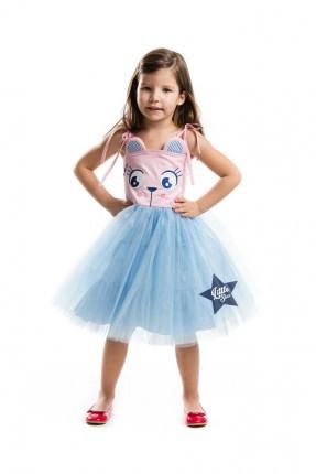 فستان اطفال بناتي تول