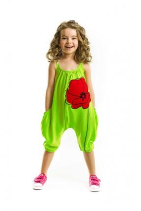 افرول اطفال بناتي مع طبعة وردية