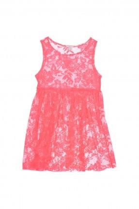فستان اطفال بناتي - فوشي