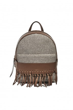 حقيبة ظهر نسائية جلد
