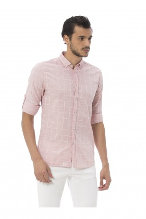 قميص رجالي _ احمر