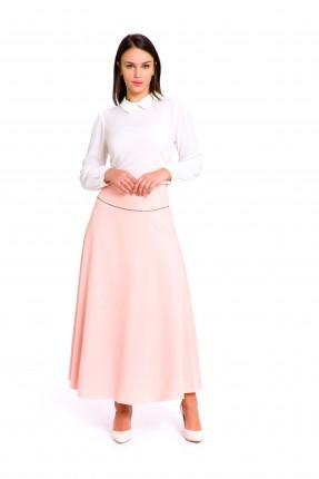 تنورة طويلة - وردي