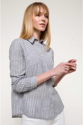 قميص نسائي مقلم سبور