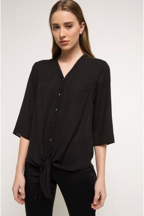 قميص نسائي - اسود