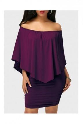 فستان سبور - بنفسجي