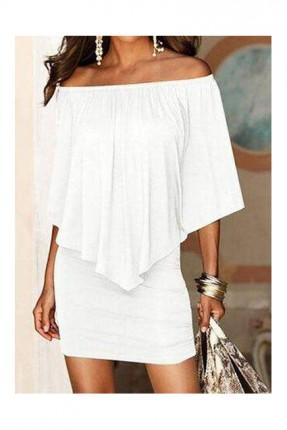 فستان سبور - ابيض