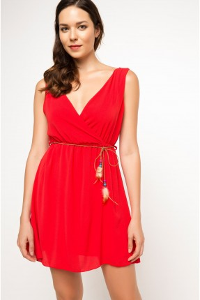 فستان سبور - احمر