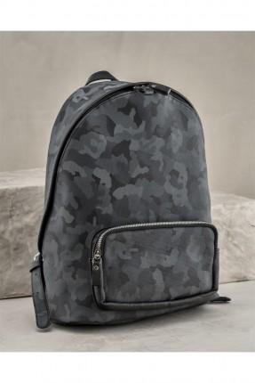 حقيبة ظهر رجالية مموهة - اسود
