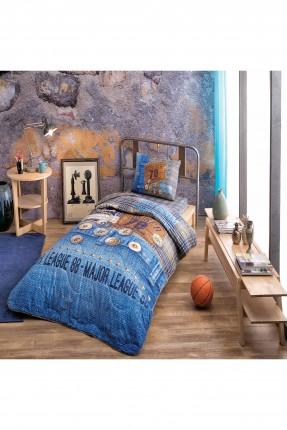 غطاء سرير اطفال ولادي مع رسمة