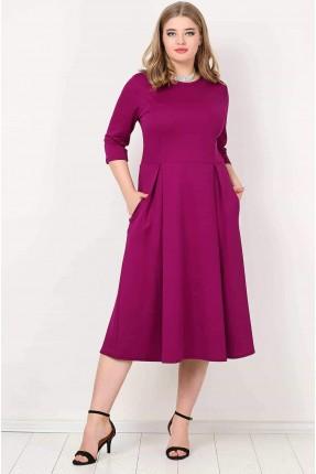 فستان قصير سبور - بنفسجي