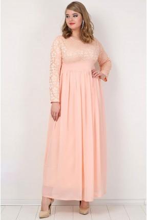 فستان طويل دانتيل