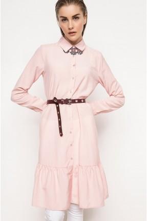 قميص نسائي - وردي