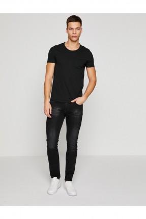 بنطال جينز رجالي _ اسود