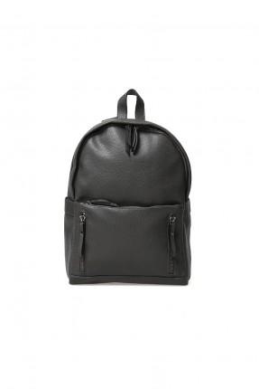 حقيبة ظهر رجالية - رمادي