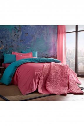 طقم سرير مزدوج / 3 قطع / قطن 100%