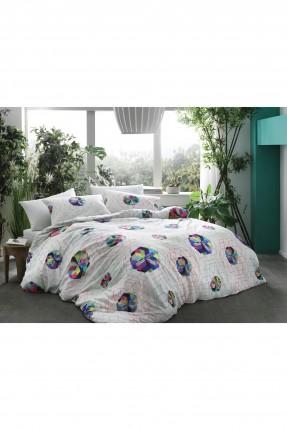 طقم سرير مفرد برسومات