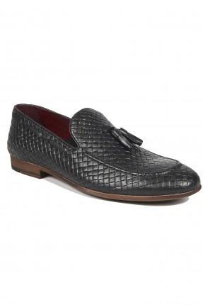 حذاء رجالي جلد مدبوغة رسمي -اسود