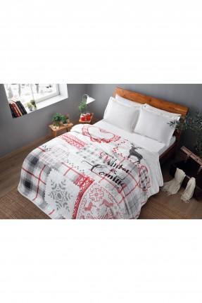 بطانية سرير مزدوج برسومات قياس 220 * 240 سم