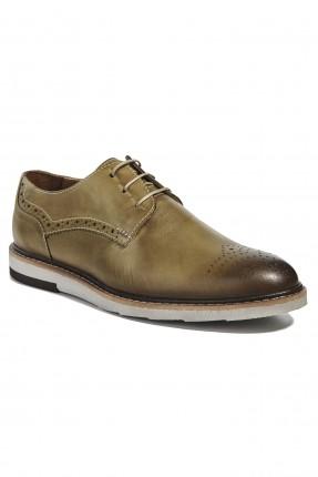 حذاء رجالي جلد رسمي - اخضر