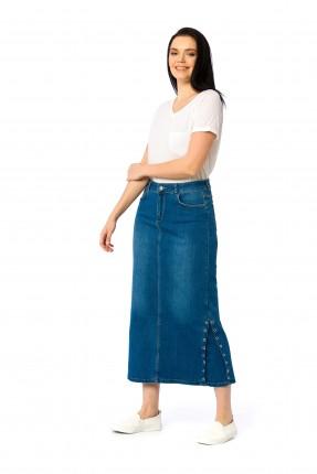 تنورة طويلة  جينز