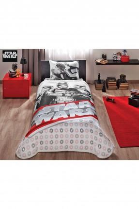 طقم بطانية سرير اطفال ولادي - ستار وورز