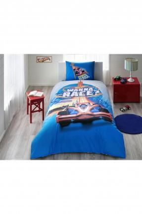 طقم غطاء سرير اطفال ولادي - سيارات
