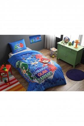 طقم سرير اطفال ولادي مع رسمة